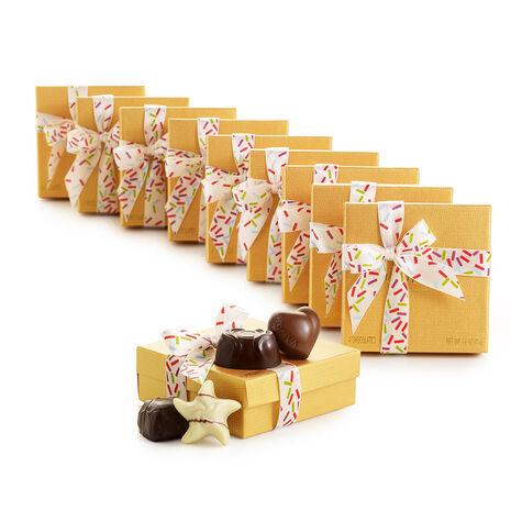 4 pc. Gold Favor - Celebration Ribbon (Set of 10)