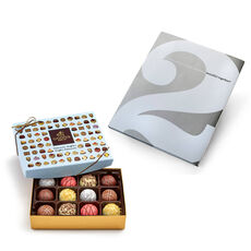 Create Something Beautiful Book & Patisserie Dessert Truffles Gift Box, 12 pcs.