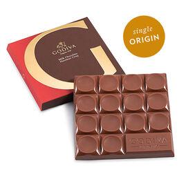 G by Godiva Milk Chocolate Hazelnut Crisp Bar, 42% Cocoa, 2.7 oz.