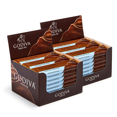 Milk Chocolate Bar, Pack of 48, 1.5 oz each