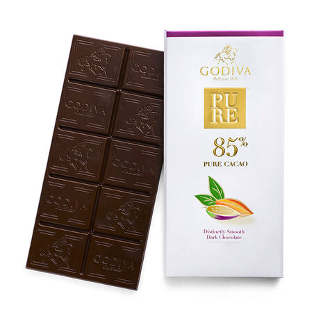 Pure 85% Distinctly Smooth Dark Chocolate Bar