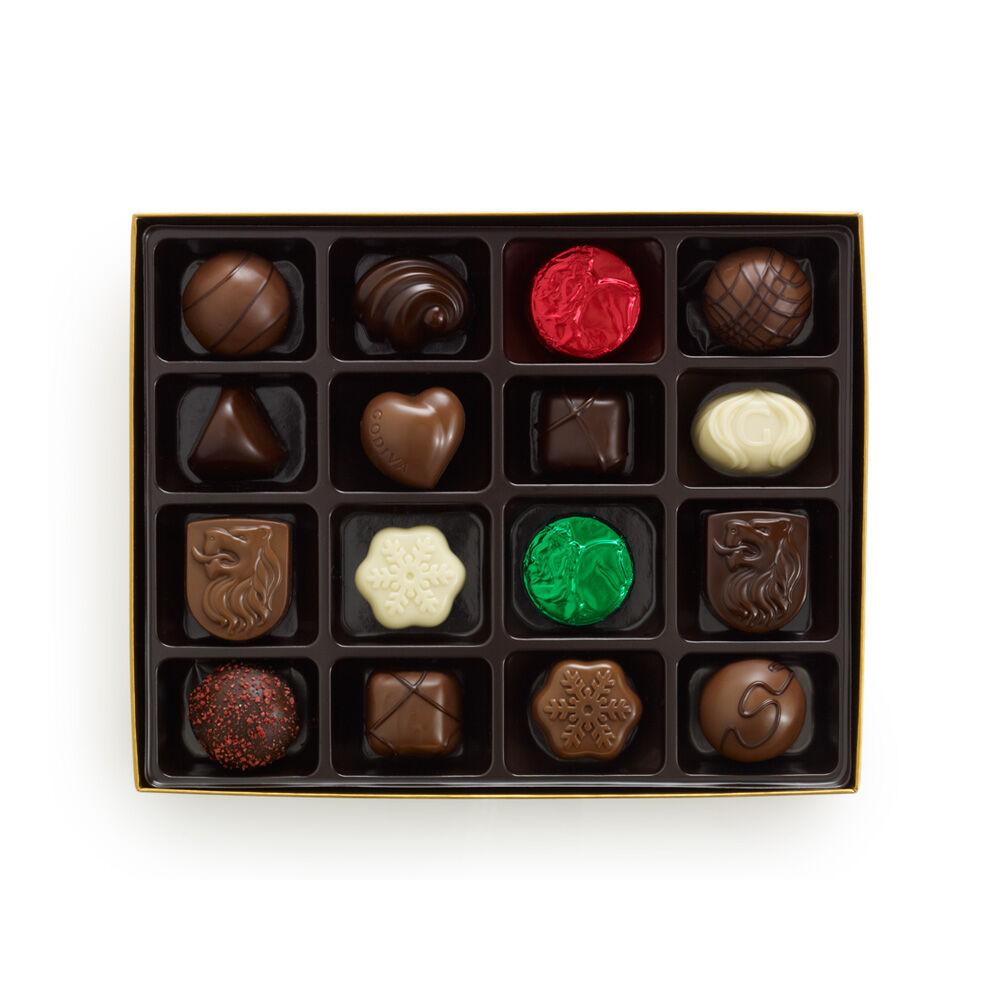 Holiday Chocolate and Truffle Gift Box