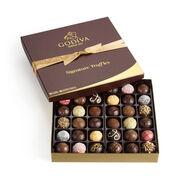Assorted Signature Chocolate Truffles, Classic Ribbon, 36 pc.