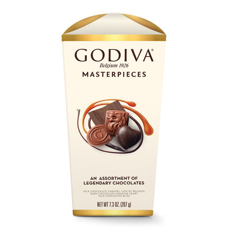 Wrapped Assorted Godiva Masterpieces Chocolate Box