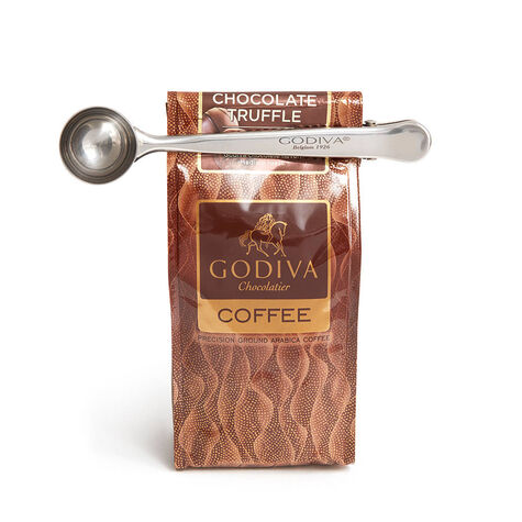 GODIVA Coffee Clip and Spoon