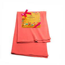 Coral Shawl with Chocolate Festival Gold Gift Box, 9 pc.