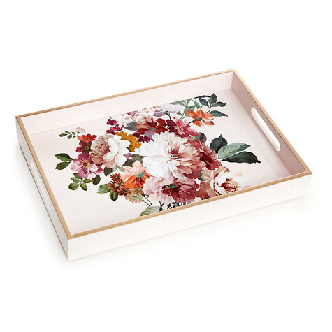 Rose Blush Lacquered Tray
