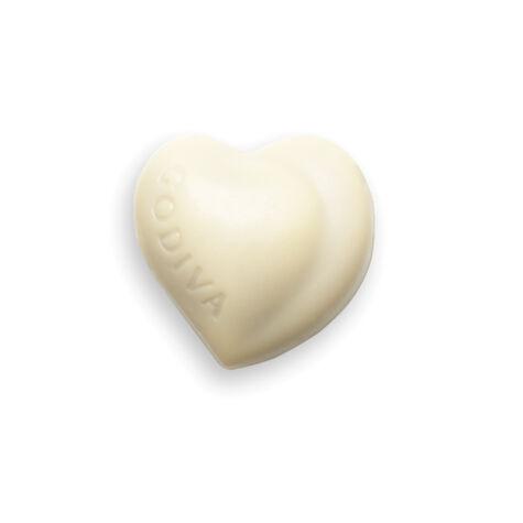 White Praliné Heart
