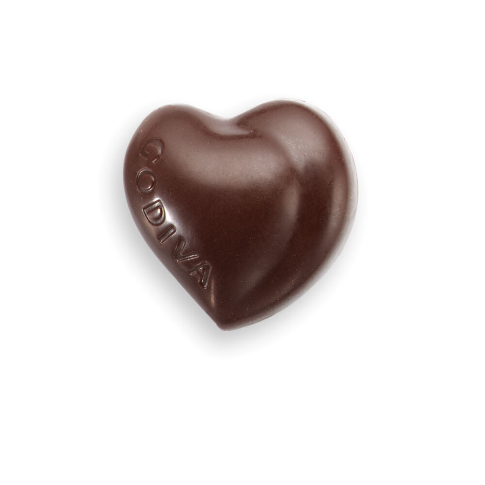 Dark Chocolate Heart in Pink Foil