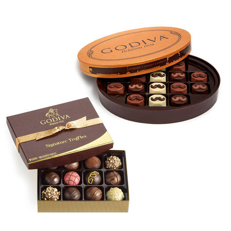 Murder on the Orient Express Gift Box, 16 pc. and Signature Chocolate Truffles, 12 pc.