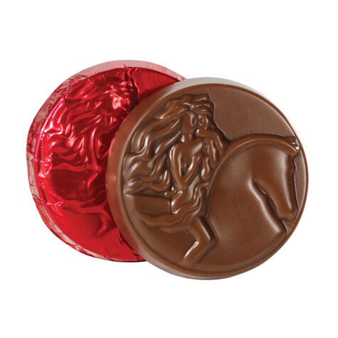 Milk Chocolate Medallion