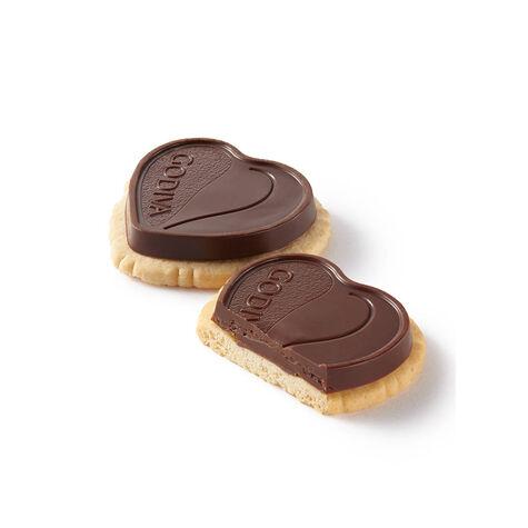 Coeur Noir Dark Chocolate Truffle Biscuit
