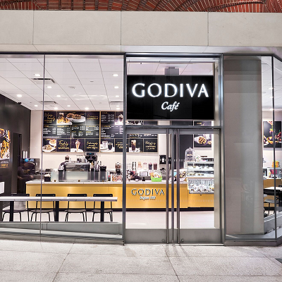 GODIVA Cafe in New York City