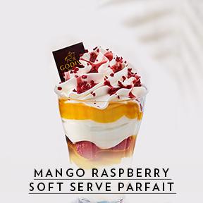 Mango Raspberry Parfait