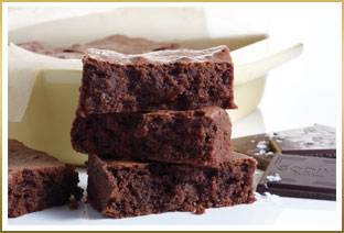 GODIVA Dark Chocolate Sea Salt Brownies