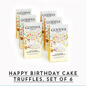 Bags of birthday cake truffles