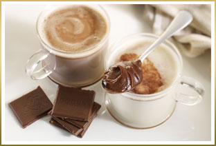 GODIVA Salted Caramel Ganache Hot Chocolate