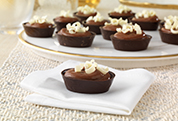 Triple-Chocolate Pudding Cups