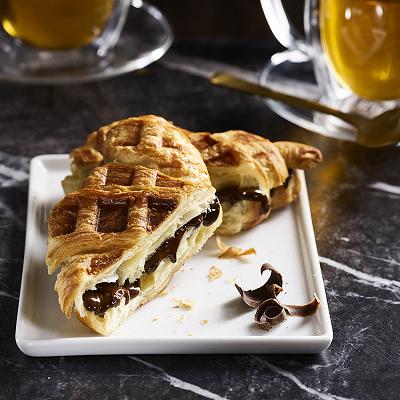 GODIVA Dark Chocolate Croiffle Croissant