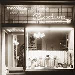 Godiva boutique in 1926
