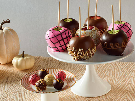 Chocolate Dipped Apples Recipe